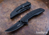 Kershaw Knives: Outright - Assisted Flipper - Black DLC Finish - 8320BLK