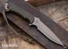 Spartan Blades: Ares - Green Micarta - CPM-S45VN - Flat Dark Earth PVD