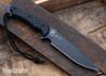 Spartan Blades: Horkos - Black Micarta - CPM-S45VN - Black PVD