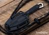 Kershaw Knives: Brace - Fixed Blade Neck Knife - Dual Retention Sheath - 2085