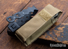 Benchmade Knives: 2750SFE-2 Adamas Auto - Olive Drab G-10 - CPM CruWear - Flat Earth Cerakote - Partially Serrated
