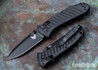 Benchmade Knives: 575BK-1 Mini Presidio II - Black CF-Elite Scales - AXIS Lock - CPM S30V