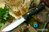 Bark River Knives: Gunny Hunter LT - CPM 3V - Duskdog Canvas Micarta