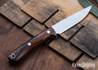 Lon Humphrey Knives: Tucson AEB-L - Desert Ironwood - Red Liners - LH30GG129