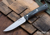 Lon Humphrey Knives: Tucson AEB-L - Storm Maple - Red Liners - LH30GG147