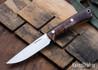 Lon Humphrey Knives: Tucson AEB-L - Tasmanian Blackwood - Black Liners - LH30GG156