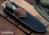 Lon Humphrey Knives: Tucson AEB-L - Tasmanian Blackwood - Orange Liners - LH30GG166