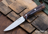 Lon Humphrey Knives: Tucson AEB-L - Tasmanian Blackwood - White Liners - LH30GG171