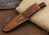 Randall Made Knives: Model 8 Bird & Trout - Rosewood - Nickel Silver Hilt