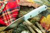 Bark River Knives: UP EDC - Sea Blue G-10 - White Liners