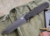 Benchmade Knives: 141BK Nimravus - Fixed Blade - Tanto - Black Finish