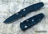 Benchmade Knives: 585BK Mini Barrage - Black Blade - AXIS Assist