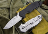 Kershaw Knives: Emerson CQC-7K - Tanto - Satin - Black G-10