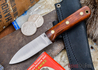 L.T. Wright Knives: Genesis - Desert Ironwood - Flat Ground - A2 Steel - #34