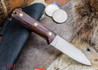 L.T. Wright Knives: Genesis - Desert Ironwood - Flat Ground - A2 Steel - #49
