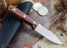 L.T. Wright Knives: Genesis - Desert Ironwood - Flat Ground - A2 Steel - #59
