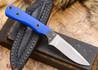 Alan Warren Knives: Custom Neck Knife - Blue G-10 - #1800