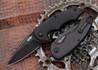 Brous Blades: Sinner Flipper - Carbon Fiber Handles - Satin Finish