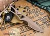 Bark River Knives: Kitchen Parer/Utility S35VN - Redwood Burl - 1