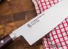 L.T. Wright Knives: Genesis - Green Micarta - Flat Ground - A2 Steel