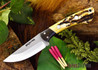 Northwoods Knives: Iron River - Antique Stag Bone