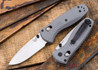 Benchmade Knives: 585-2 Mini Barrage - Gray G-10 - AXIS® Assist