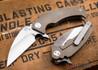 Medford Knife & Tool: FUK Flipper - Bronze Titanium - Tumbled Finish