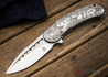 Todd Begg Knives: Custom Bodega - Dragon Lady Engraving - Grey Titanium
