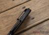 Todd Begg Knives: Steelcraft Series - Field Marshall - Black Titanium - Draupner Damasteel - OO