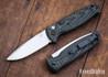 Benchmade Knives: 4300-1 CLA - Auto - Textured Black & Green G-10