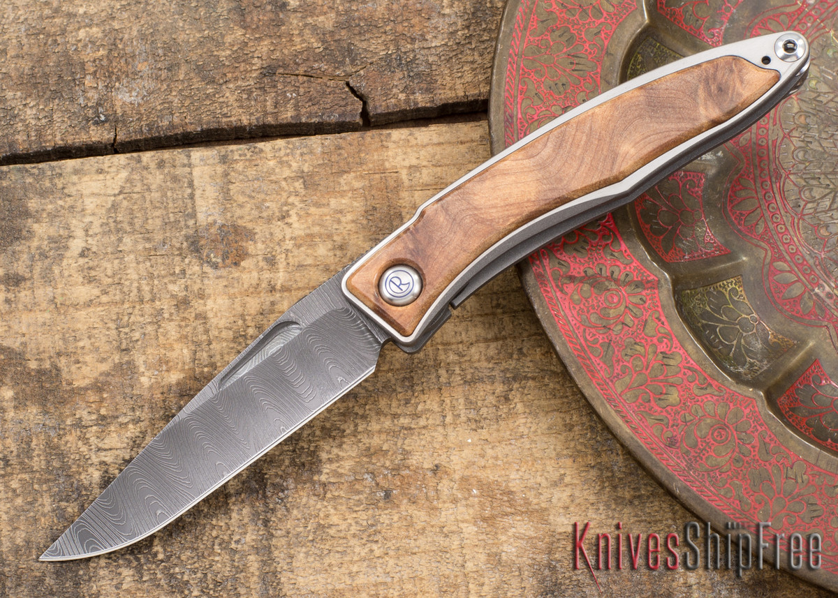Chris Reeve Knives: Mnandi - Thuya Burl - Ladder Damascus - 031517 primary image