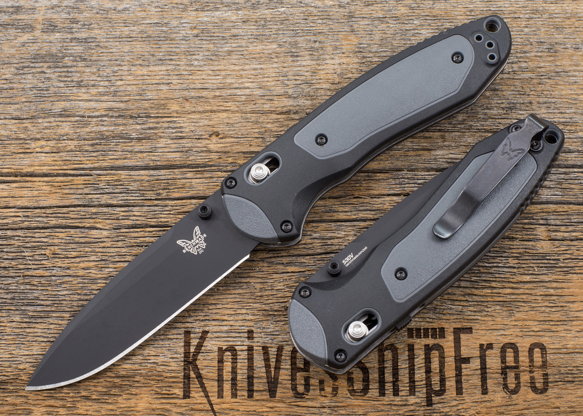 Benchmade Knives: 590BK Boost - Assisted Opening - Black Blade primary image