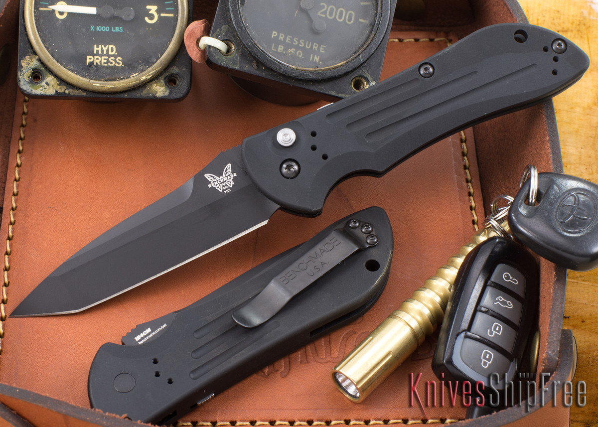 Benchmade Knives: 9101BK Auto Stryker - Black Blade primary image