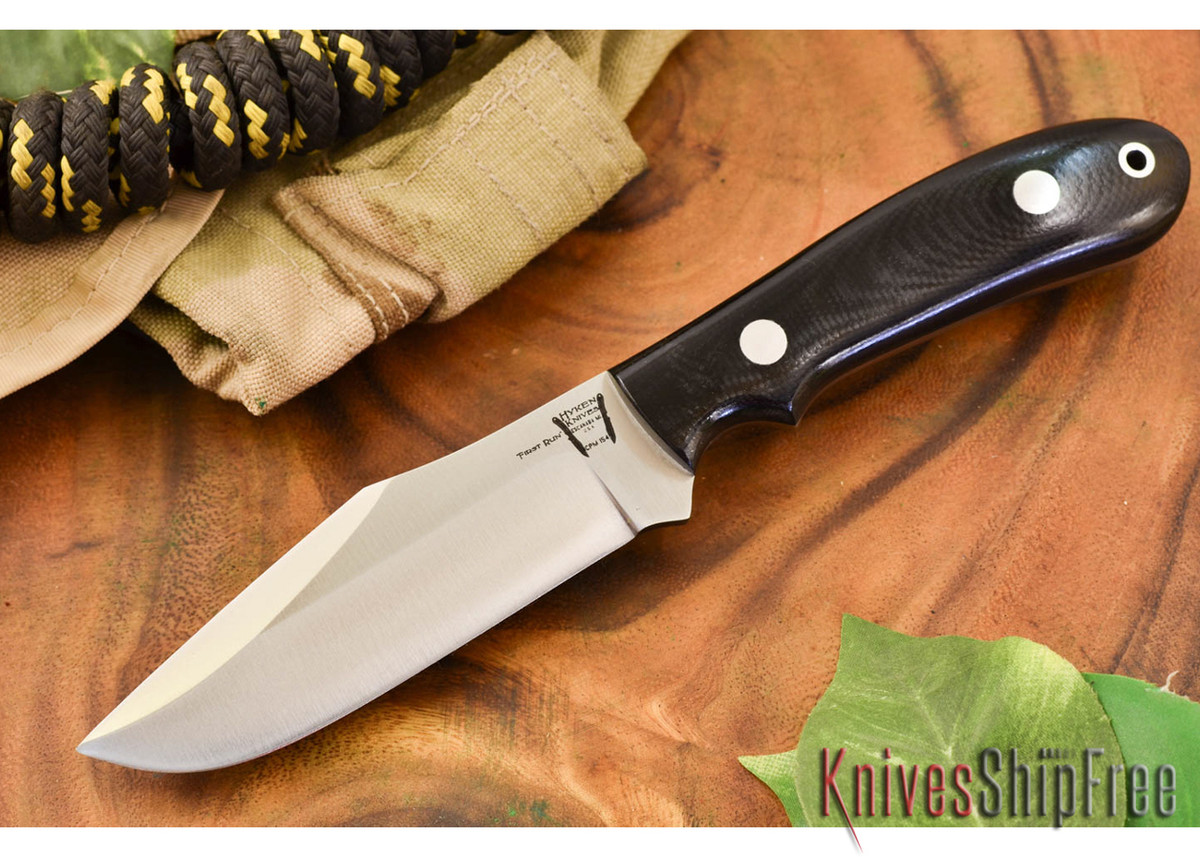 Hyken Knives: Harpoon CPM-154 - Black G-10 primary image