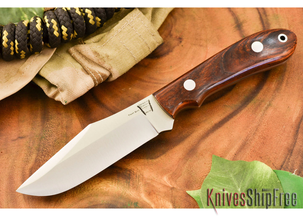 Hyken Knives: Harpoon CPM-154 - Cocobolo #1 primary image