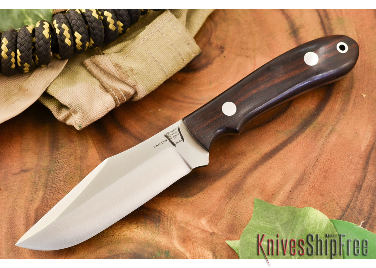 Hyken Knives: Harpoon CPM-154 - Desert Ironwood #3 primary image