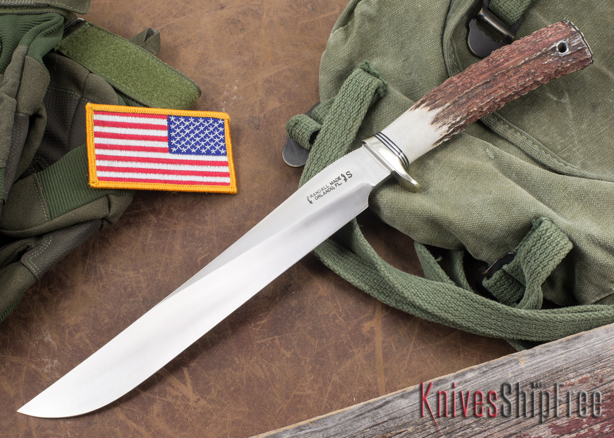 Randall Made Knives: Model 6-9 Filet Knife - Stag - Stainless Steel primary image