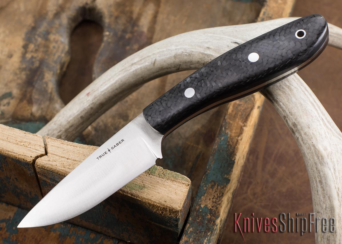 True Saber Knives: Shawnee - Carbon Fiber primary image