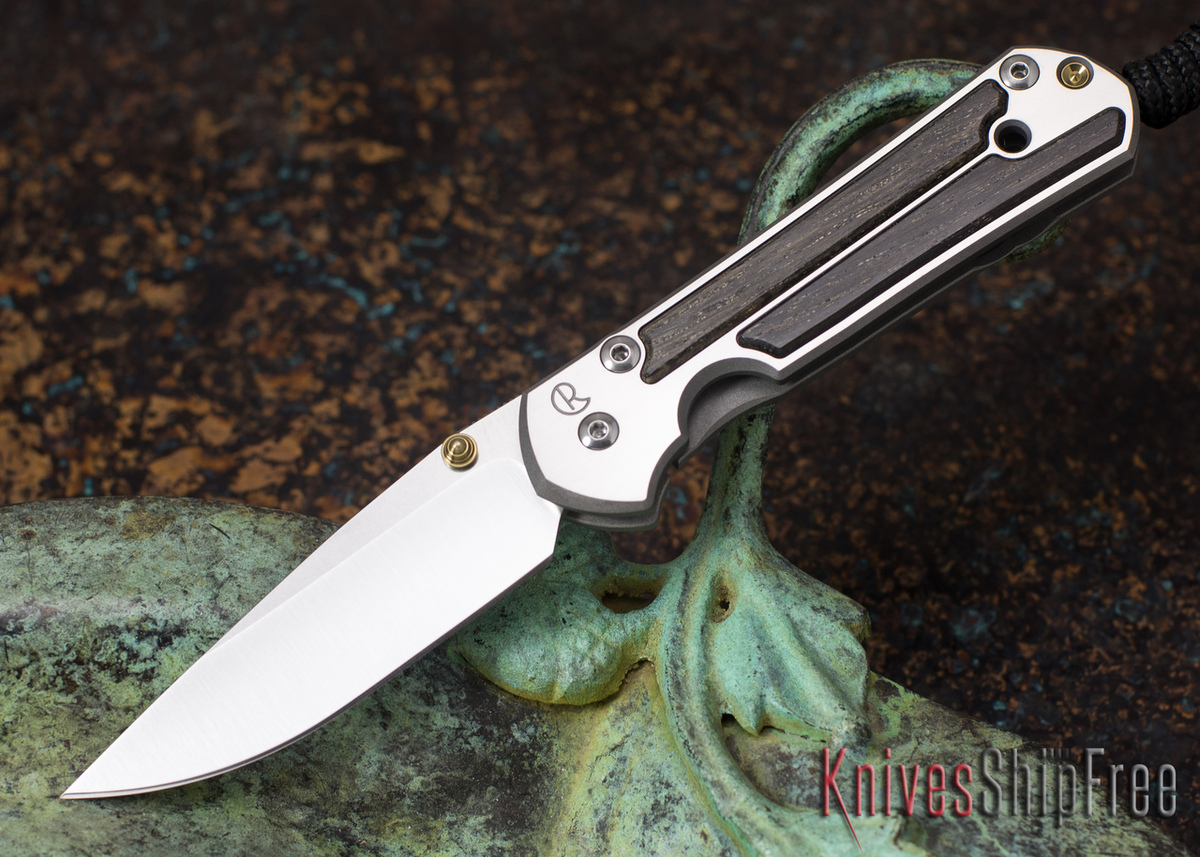 Chris Reeve Knives: Small Sebenza 21 - Bog Oak - 051003 primary image