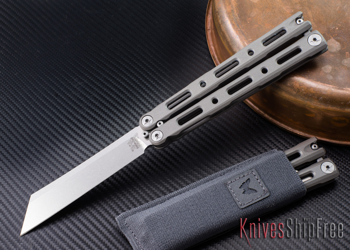 Benchmade Knives: 87 Bali-song - Titanium - Wharncliffe primary image