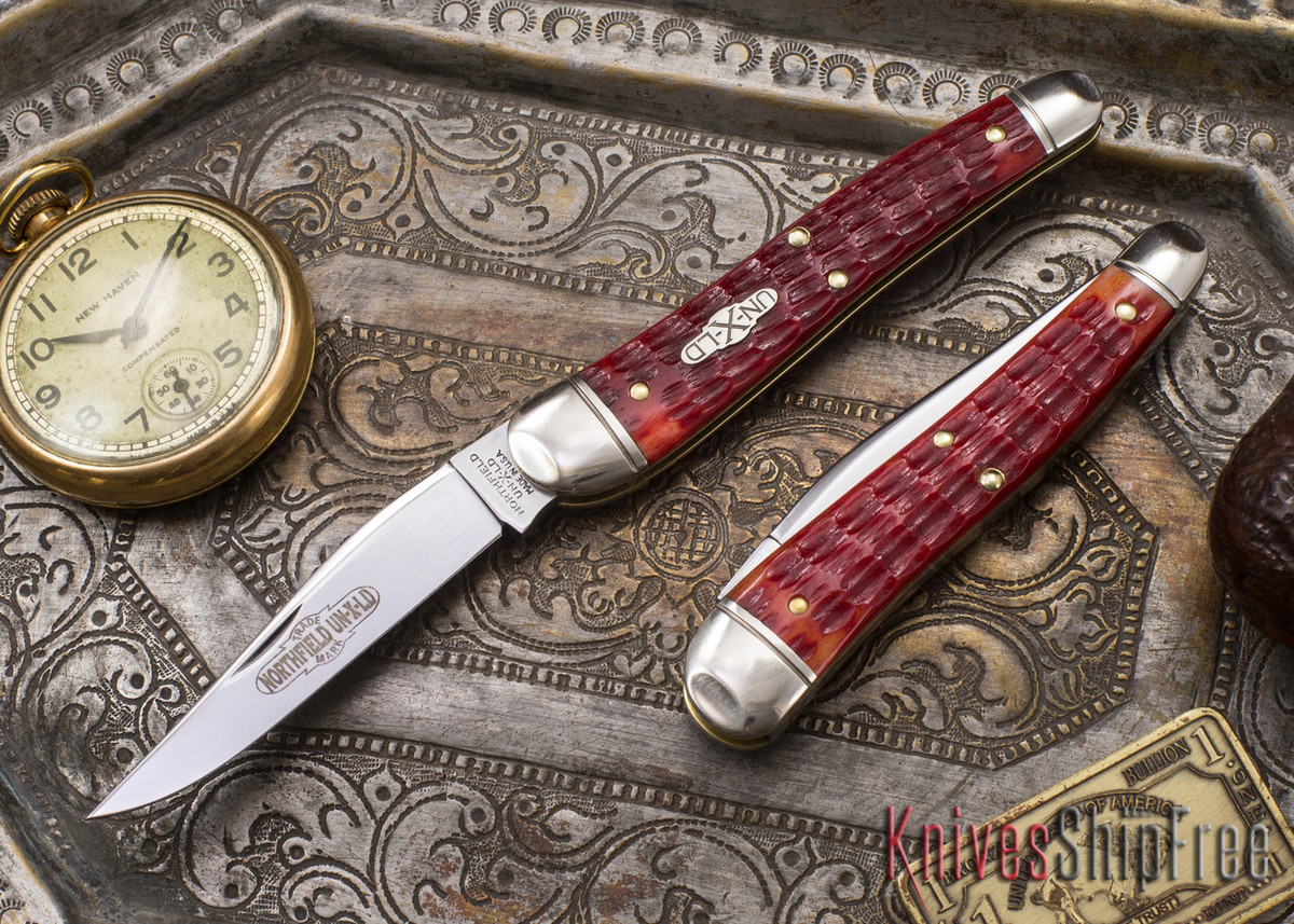 Great Eastern Cutlery: #38 Special - Northfield UN-X-LD - Indian Paint Brush Jigged Bone primary image