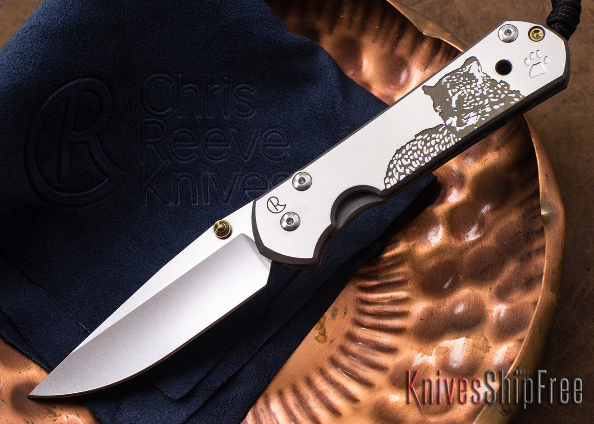 Chris Reeve Knives: Large Sebenza 21 - CGG Leopard