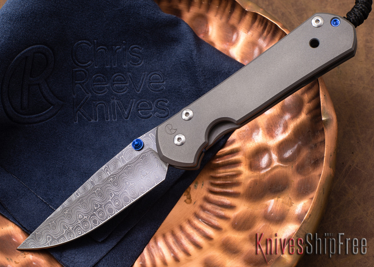 Chris Reeve Knives: Large Sebenza 21 - Raindrop Damascus