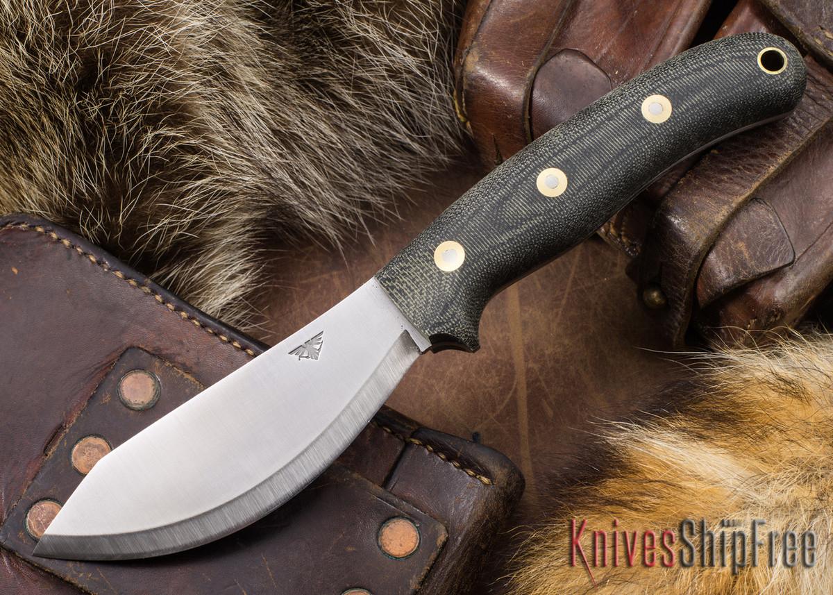L.T. Wright Knives: JX2 Jessmuk - O1 - Black Micarta - Matte primary image