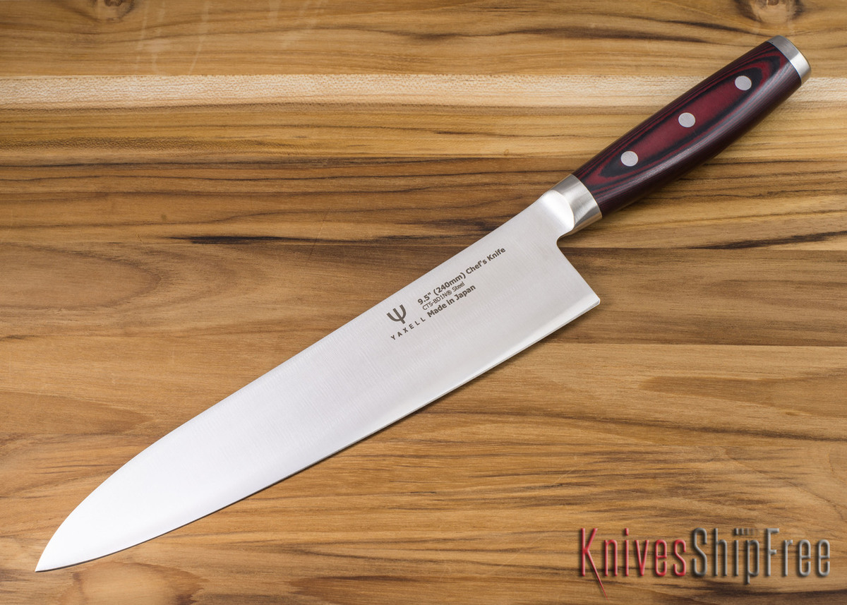 "Yaxell: Dragon Fire - 9.5"" Chef's Knife - BD1N primary image"