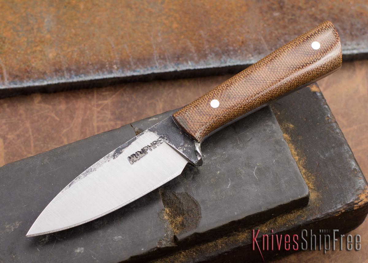 Lon Humphrey Knives: Custom Whitetail - Natural Micarta - 080920 primary image