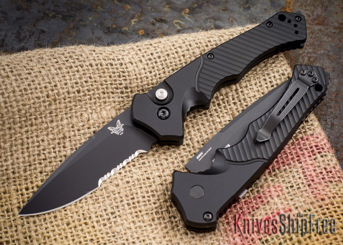 Benchmade Knives: 9600SBK - Rukus II - Auto primary image