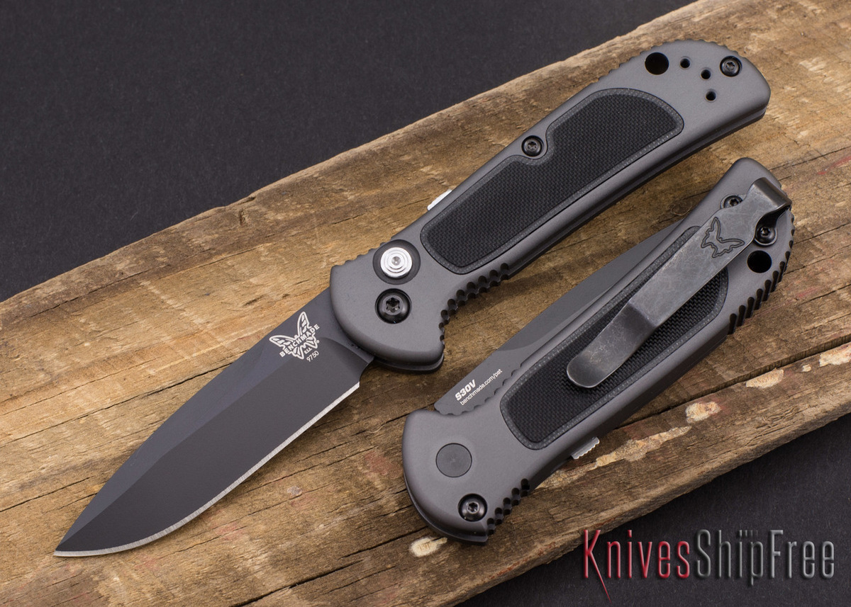 Benchmade Knives: 9750BK Mini Coalition - Auto - Black Blade primary image