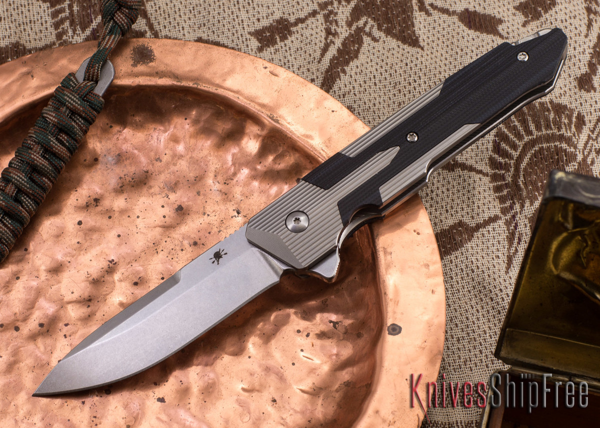 Spartan Blades: Kranos - Titanium - Black G-10 primary image