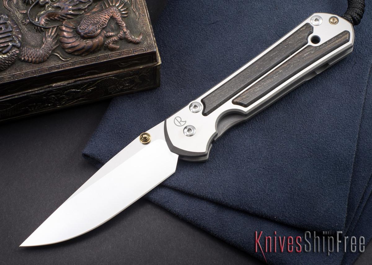 Chris Reeve Knives: Large Sebenza 21 - Bog Oak - 100410 primary image